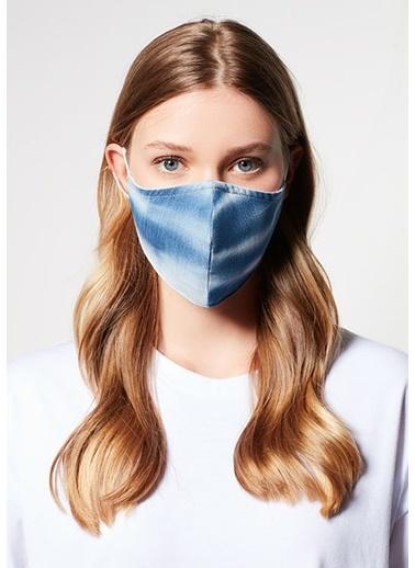 Mavi Kadın  Batik Yıkanabilir Yüz Maske 198067-10242 İndigo